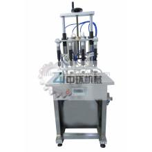 Semi-automatic 4 nozzles E-liquid filling machine