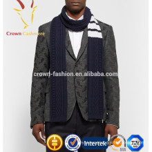 Fashionable Cable Knit Infinity Scarf for Men Winter Cable Scarf Knitting Pattern