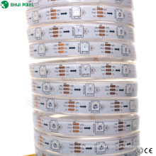 outdoor decoration sk6812 led strip 5050 10mm width flexible led strip addressable rgb led strip 5v