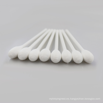 Hisopo de gasa estéril de algodón médico