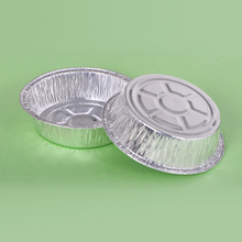 Circle Aluminum Foil Dish for Picnic