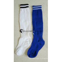 2016 OEM изготовленный на заказ носки новейший дизайн оптом Оптовая Футбол носки
