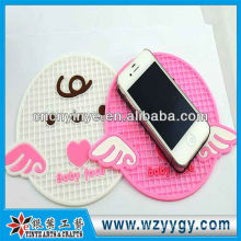 Fashion custom cute pattern phone anti slip mat for promotion and souvenir gift