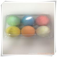 Giz de forma de ovo colorido para promoção