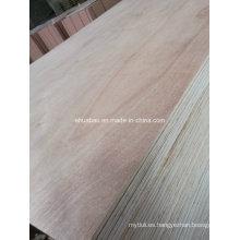 E1 Glue Furniture Grade Laminado de contrachapado para gabinetes