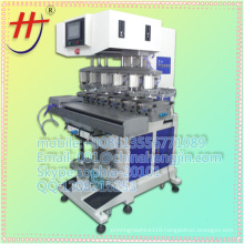 New Conveyor Pad Printer 6-colors for Golf ball/Ball Machine in china