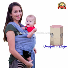 Popular dark blue baby carrier/baby sling/baby wrap with free sample