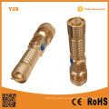 Y28 Aluminum Alloy USB LED Lights 10W Attack Head LED Torch 1000lm with USB Powerbank