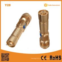 Y28 Aluminiumlegierung USB LED beleuchtet 10W Angriff Kopf LED Fackel 1000lm mit USB Powerbank