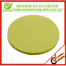 Eco-Friendly Green Wool Felt Coaster