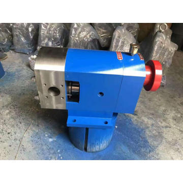 Food grade cow dairy milk external rotary lobe transfer pump