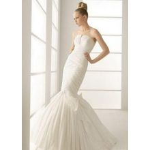 A mermaid wedding dress