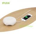 2016 alibaba China Lieferant IPUDA Phantasie Lampe mit Aufladen mit 2.4A USB-Steckdosen