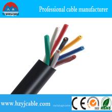450 / 750V гибкий кабель управления подъемником Muticore, автомобильный кабель управления