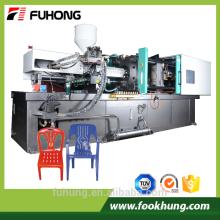 Ningbo fuhong 800ton máquina de moldagem de cadeira de plástico servo motor bomba fixa