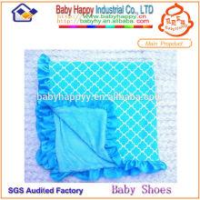 Billige handgemachte Plüsch Baby Decken