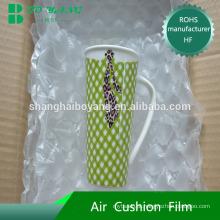 Comércio eletrônico convience embalagem protectora material inflável air-bag