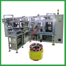Stator coil lacing production machine