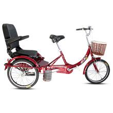 20 pouces en alliage châssis 3 roues Tricycle