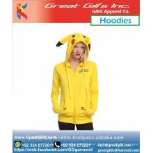 80 Baumwolle 20 Polyester Hoodies, Pokemon benutzerdefinierte HoodiesSweatshirts