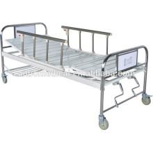 Side Rails zwei Funktionen manuelle Krankenhausbett mit Double Shake