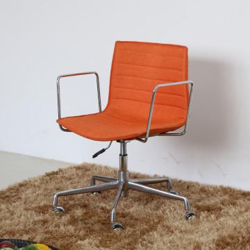 (SP-FC327) Silla tapizada de cuero anaranjada ajustable de la oficina de Arper Catifa