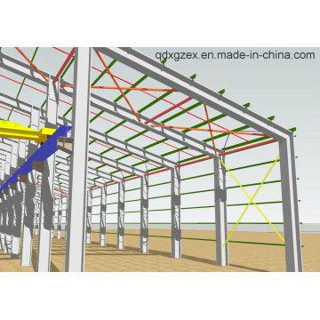 Pre-Engineered Steel Structure Workshop (SSW-14342)