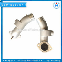 custom made quality promise aluminum die gravity casting machinery part