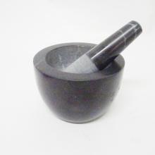 Salable Mortar marmar hitam dan Gurinda rempah Pestle