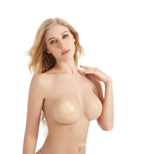 womens sexy lingeries stealth sticky silicone clear bra