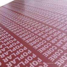 Die ausgezeichnete Linyi Fabrik, um das Schalungs-Sperrholz mit wasserdichtem Kleber zu produzieren