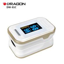 ДГ-стороны 81c CE одобрил больницу цифровой spo2 пальца Пульсоксиметр с OLED-экраном