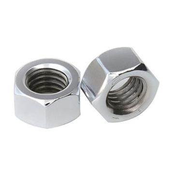Tuerca hexagonal en pulgadas de acero al carbono Dacromet