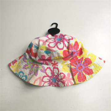 Soft Touch Popelina Brim Bucket Hat
