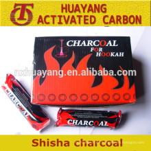 shisha carbón de leña / precio de fábrica -Arab hookah shisha carbón de leña