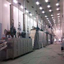 Emamectin benzoate vacuum conveyor belt dryer