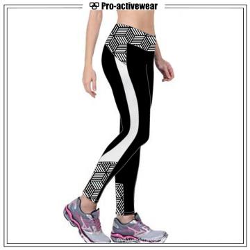 Neue Ankunfts-nach Maß schwarze heiße Mädchen-Yoga-Hosen