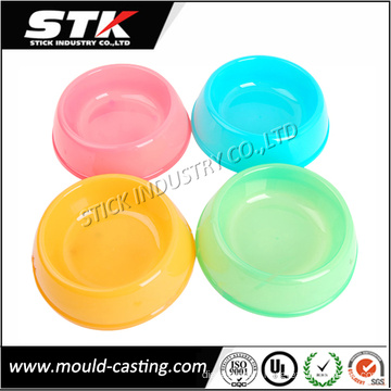 Popular Colourful Portable Plastic Food Container for Pets (STK-PLH0003)