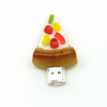 Bottom price for Wood Custom Tiny Usb Flash Drive Pizza USB Flash Drive 4GB 8GB 16GB supply to Bangladesh Factories