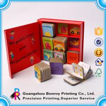 Esquina redonda impresión en color de cartulina para bebés y niños pequeños