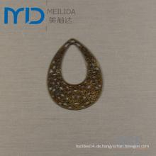Hotselling Kupfer Scheibe Blatt für Ohrring Ornamente Bookmark & Holiday Geschenke