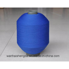 100% Polyester Dope Dyed Yarn