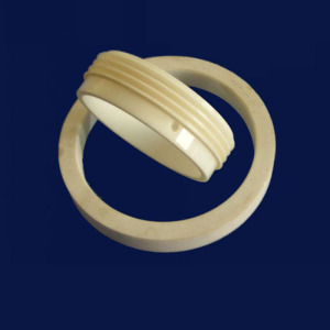 Higher Performance 99% Alumina Ceramic Rings For Insulation