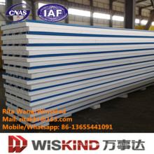 Heat Insulation Cold Room PU/EPS/Rockwool Sandwich Panel with ISO9001