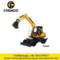 FWE80 Hydraulic Wheeled Excavator