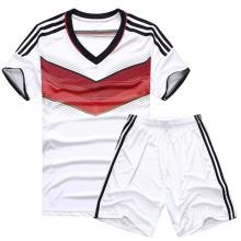 Kundenspezifische preiswerte Split Joint Soccer Uniform