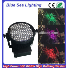 GuangZhou 100pcs x 10W multi Farbe führte Flutlicht