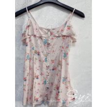Короткое платье из вискозы для женщин