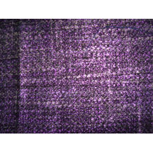 Tissu de vêtement de mode teintée de fil de laine et de laine
