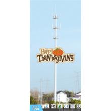 Torre de pólo de comunicação para ação de Graças